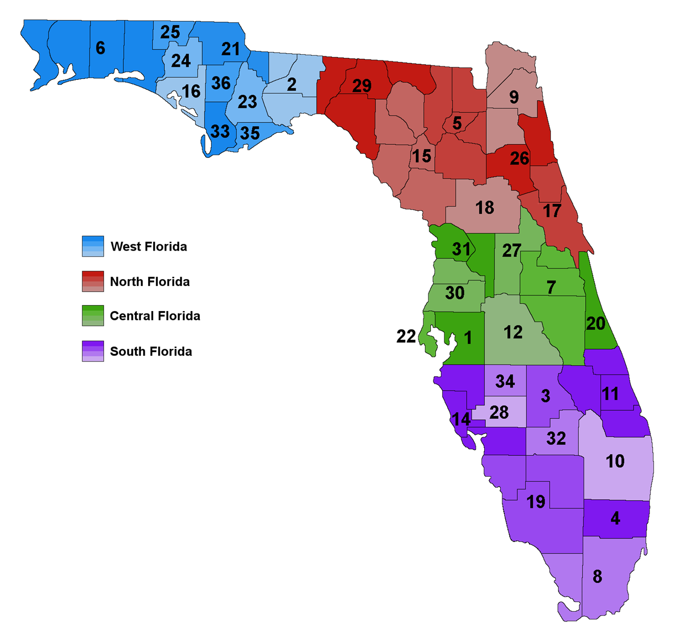 Florida Council on Crime and Delinquency   Chapters